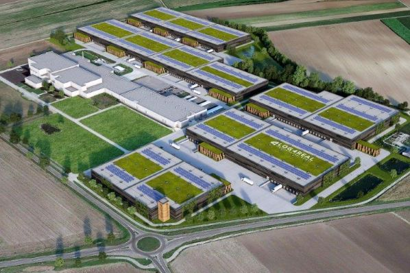 Vienna airport industrial logistics campus in Austria