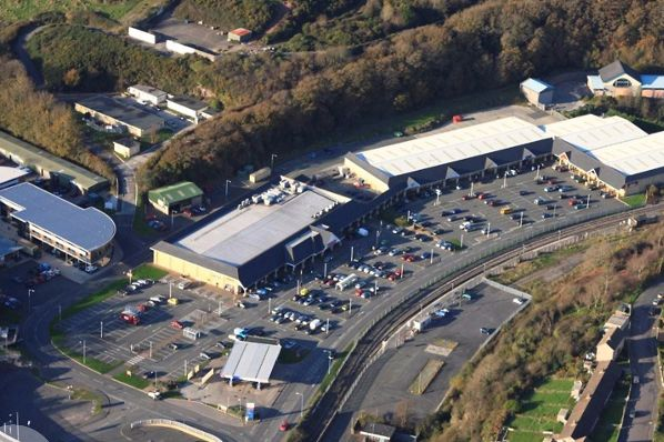 retail park in Milford Haven