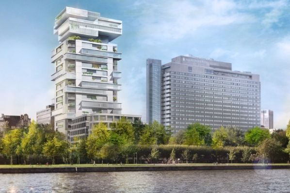 GEG Develops Union Investment's RIVERPARK Tower in Frankfurt