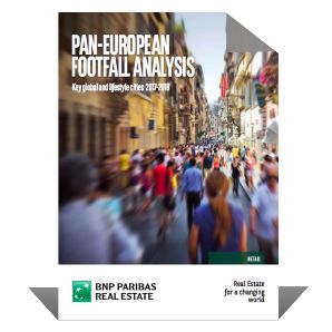 Pan-European Footfall 2017-2018  | BNP Paribas Real Estate