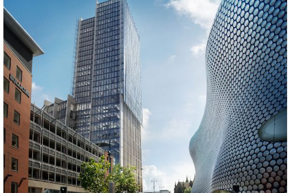 Salhia to build tallest new office building in Birmingham (GB)