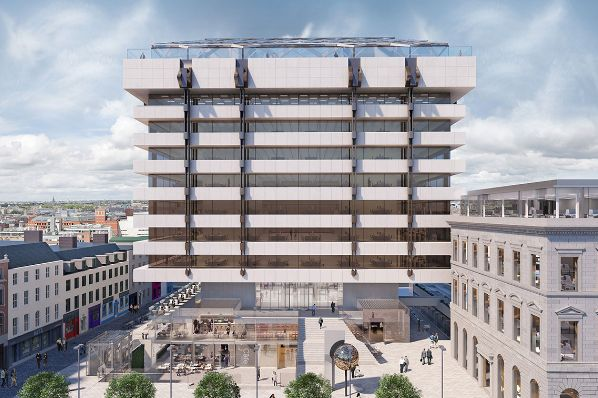 Hines secures planning for Central Plaza re-development (IE)