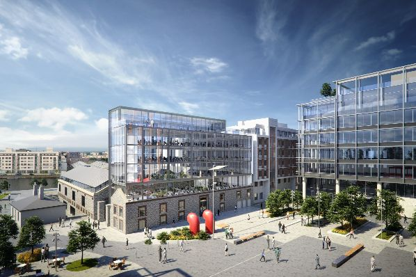 Kennedy Wilson secures planning for Dublin office scheme (IE)