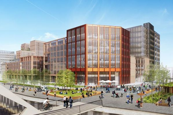 Barclays unveils plans for Glasgow office campus (GB)
