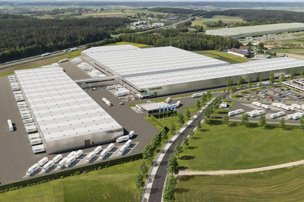 ECE to develop new Hermes logistics center in Ansbach (DE)