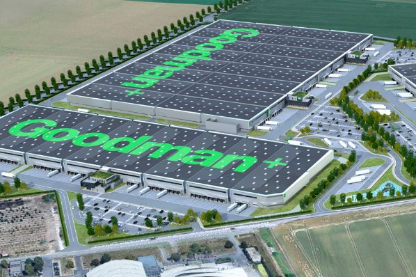 Goodman to deliver new 190,000m² logistics hub in France