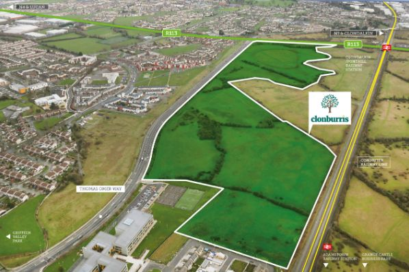 West Dublin development site goes on the market for €27.5m (IE)
