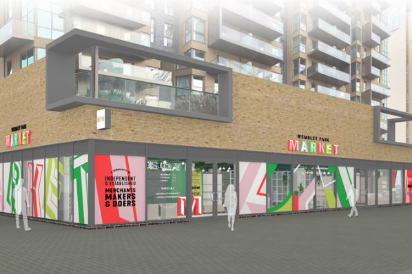Quintain launches first phase of Wembley Park Market (GB)