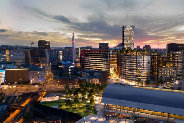 Hammerson submits plans for Birmingham City Quarters scheme (GB)