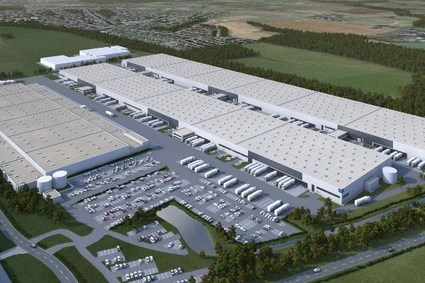 Garbe develops two new logistics halls in Werne (DE)