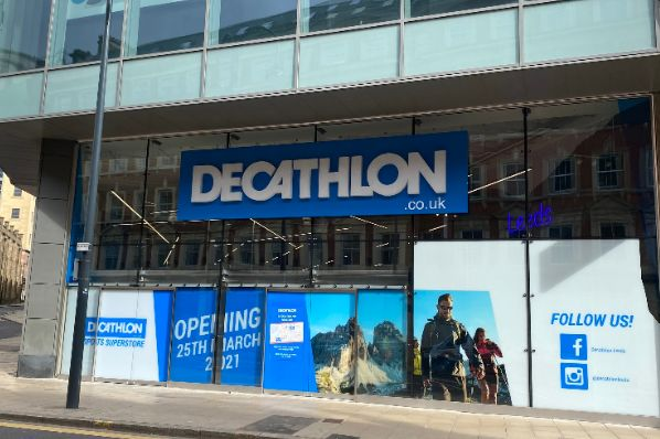 Decathlon launches experiential flagship at Trinity Leeds (GB)