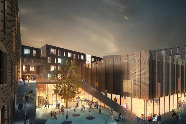|©Nord Architects Copenhagen & Vilhelm Lauritzen Architects.