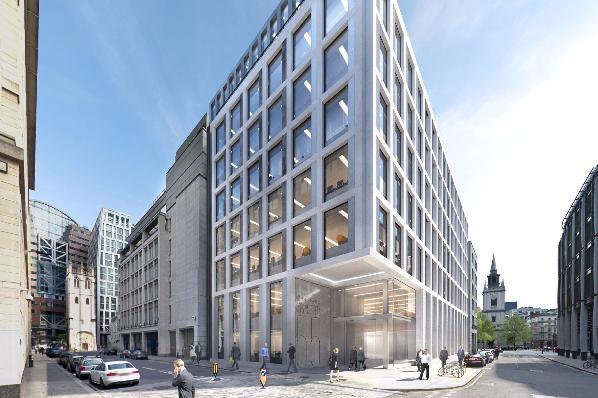 Gresham Street building | © Beltane Asset Management