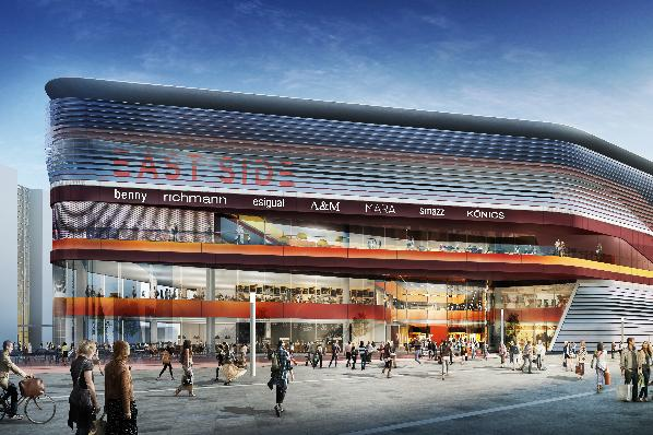 east side mall render |©freo