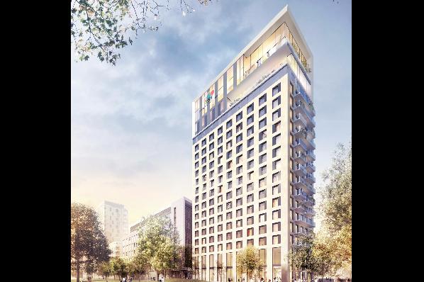 ece sells d sseldorf 25hours hotel project to patrizia de. Black Bedroom Furniture Sets. Home Design Ideas