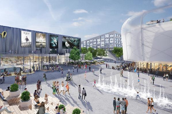 Mall of switzerland render |© FREO