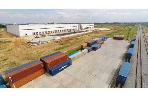 freight distribution centre x5 moscow