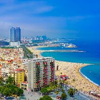 Skyline-Cityscape-Sea-City-Spain-Barcelona-Urban