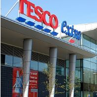Tesco superstore in Bristol