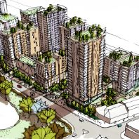 Weston and Tesco plan 1400 new homes in East London (GB)