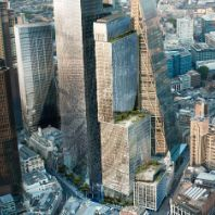 Mitsubishi Estate breaks ground on London office tower (GB)