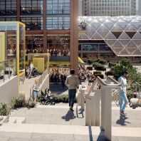 Canary Wharf Group unveils plans for the North Quay site (GB)