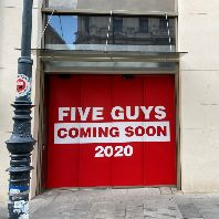 Five Guys to debut in Vienna (AT)
