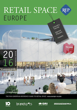 Retail Space Europe 2016 book cover
