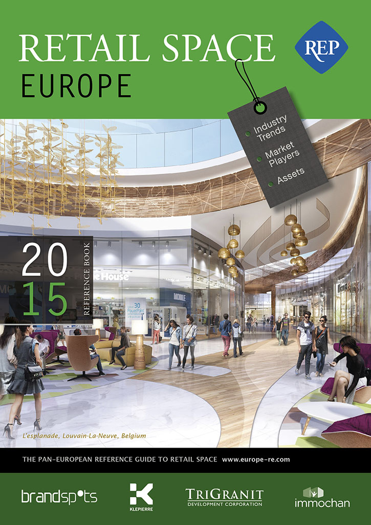 Retail Space Europe 2015 book cover