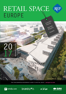 Retail Space Europe 2017 book cover