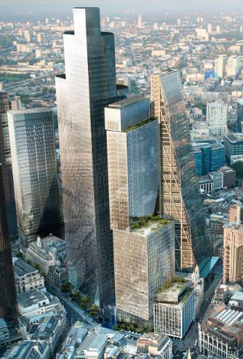 Mitsubishi Estate breaks ground on City of London tower (GB)