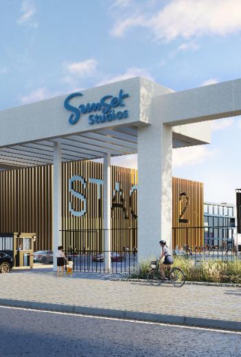 Blackstone and Hudson Pacific Properties unveil plans for UK film studio