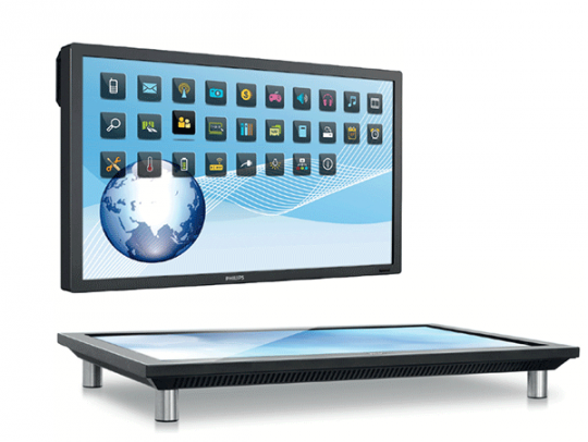 "Philips 55"" Multi-User Touch Display & Table BDT5530EM."