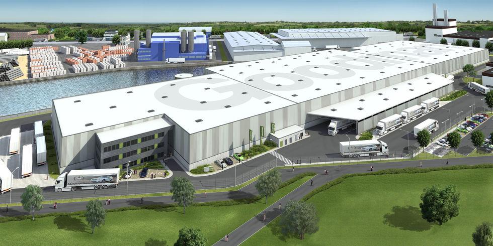 goodman to develop new logistics center for daimler in. Black Bedroom Furniture Sets. Home Design Ideas