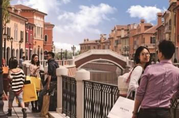 village shanghai will offer m of designer outlet shopping