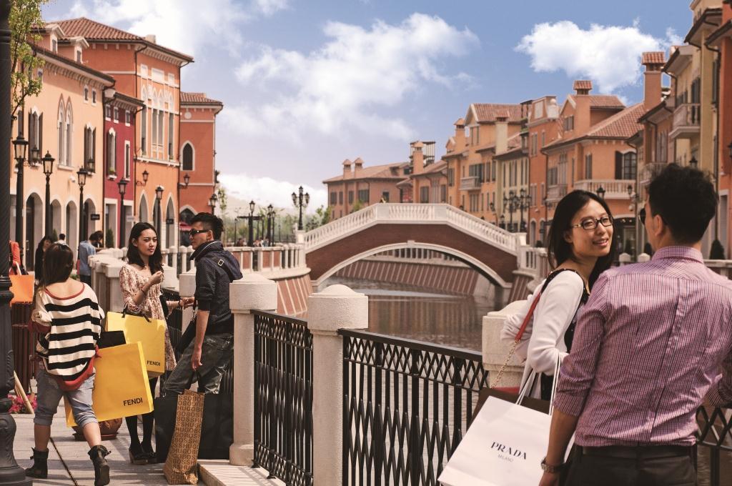 italian luxury designer outlet florentia village arrives in shanghai