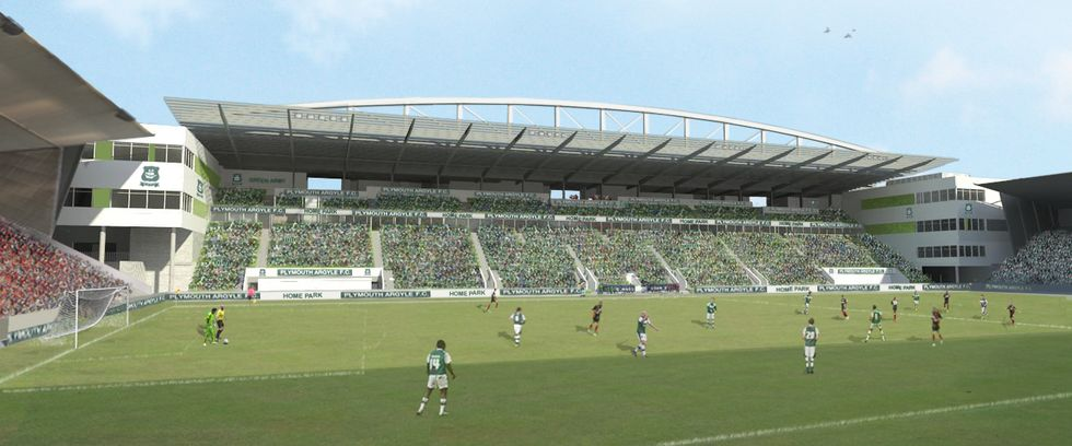 Grandstand For Plymouth Argyle Football Club Will Be