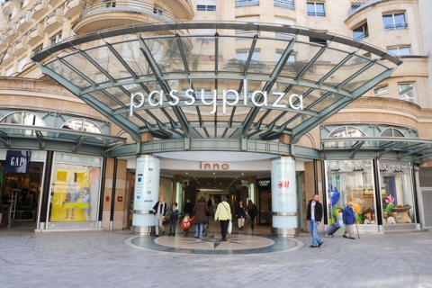 eurocommercial sells passy plaza paris and completes purchase of
