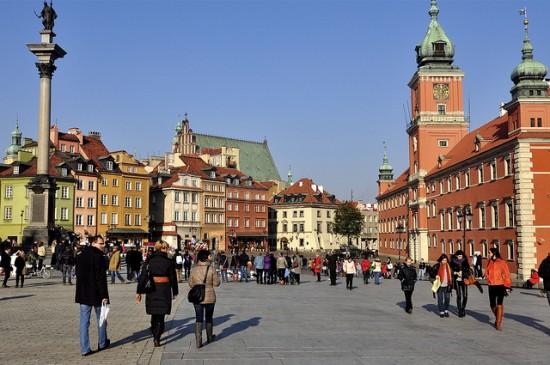 Warsaw historic center@y_entonces