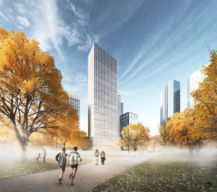 HOCHTIEF Plans New Tower Ensemble In Frankfurt (DE