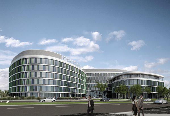 Z Blin Building 95 Million Ey Headquarters At Stuttgart