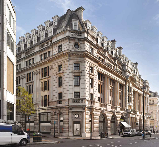 GPE sells 20 St James's Street, SW1 for £54.5 million (UK)