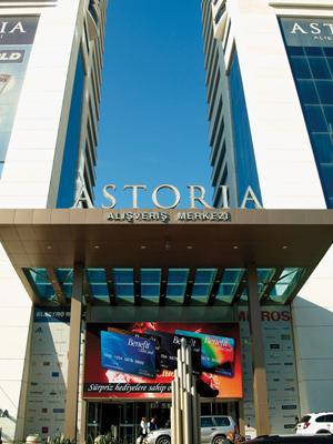 Astoria AVM girisi