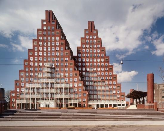 Residential Amsterdam Piramides©Syntrus Achmea