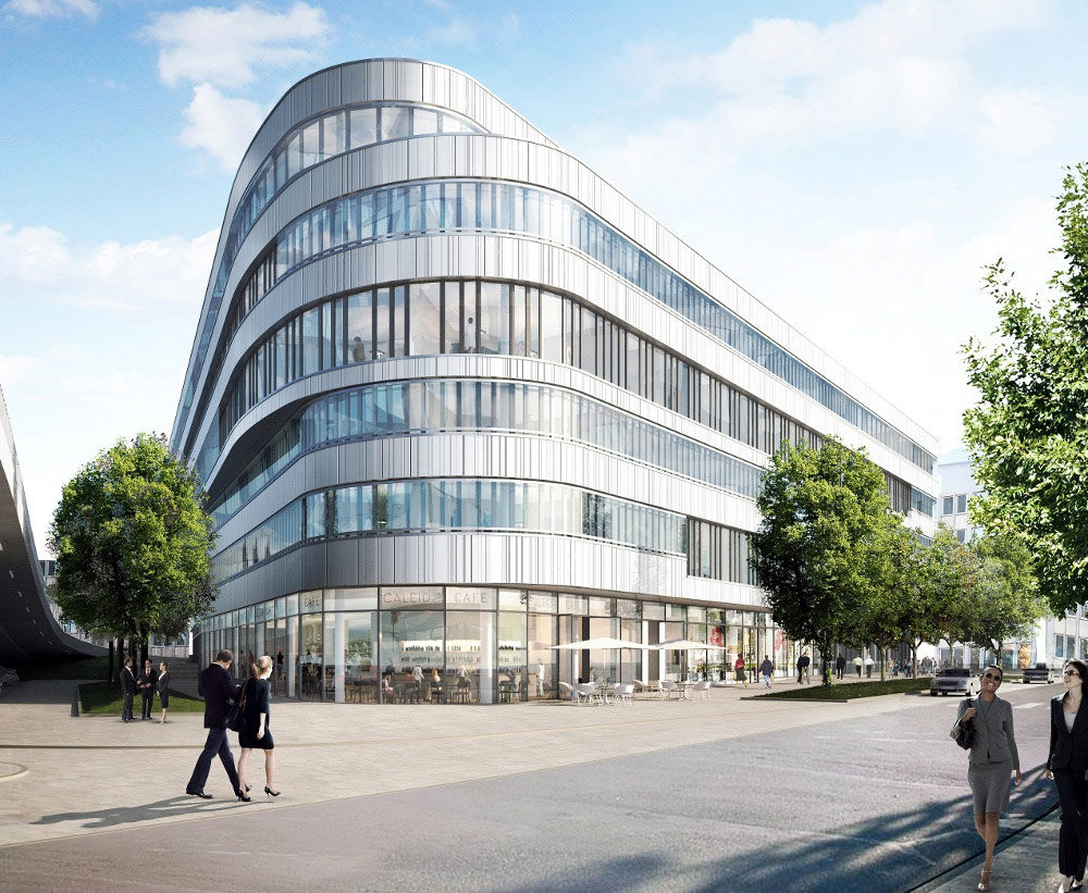 Hines 39 Pan European Core Fund Acquires Caleido In